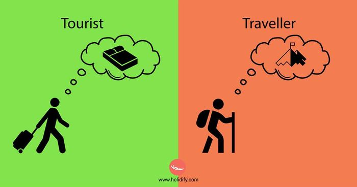 Tourist or a Traveler?10