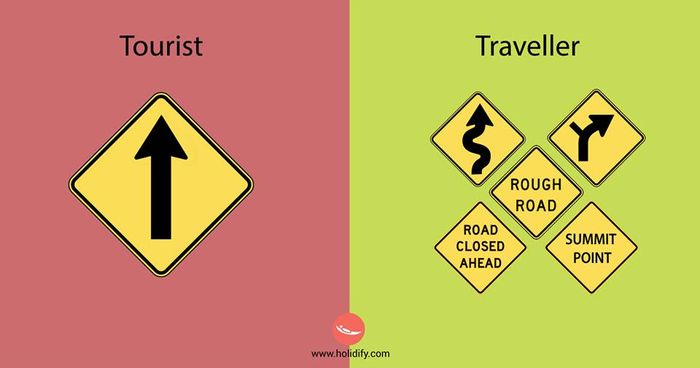 Tourist or a Traveler?12