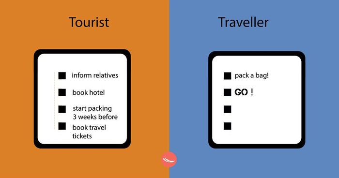 Tourist or a Traveler?4