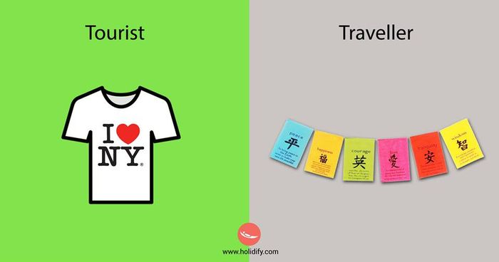 Tourist or a Traveler?9